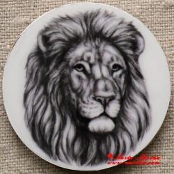Lev magnet nebo placka