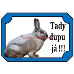Cedulka králík saalander