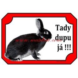 Cedulka králík bílopesíkatý