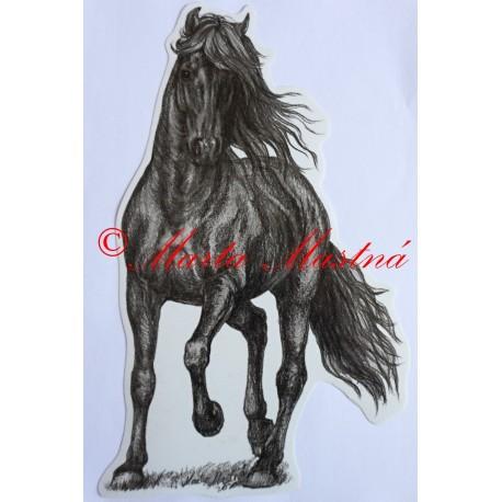 Samolepka vraník, kůň, koně