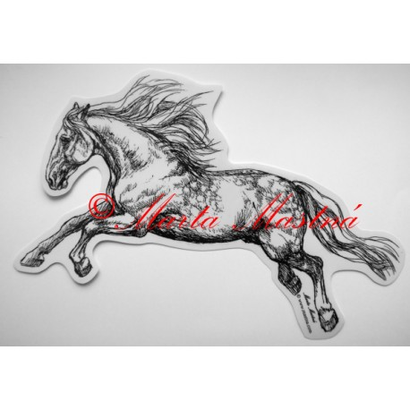 Samolepka kůň