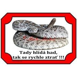 Cedulka had, chřestýš