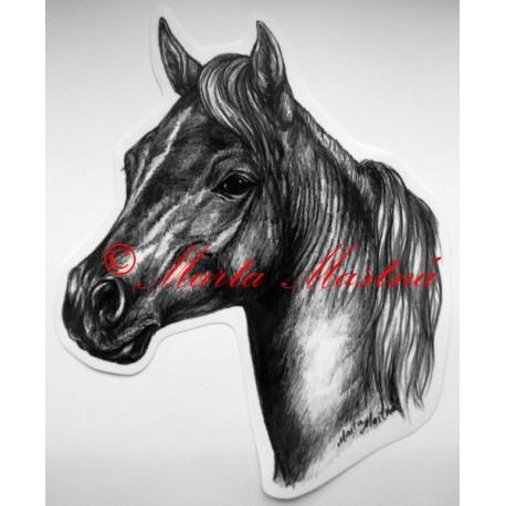 Samolepka kůň minihorse, pony