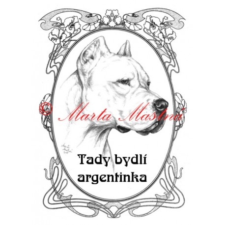 Tabulka argentinská doga