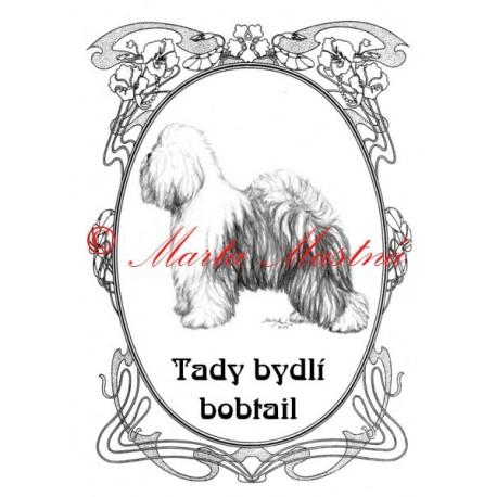 Tabulka staroanglický ovčák bobtail