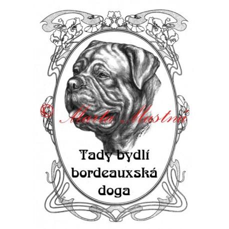 Tabulka bordeauxská doga