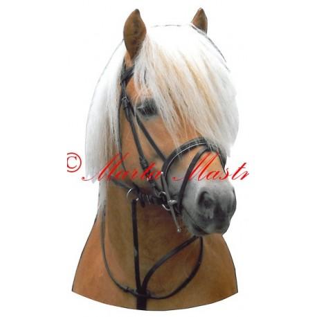 Samolepka kůň hafling