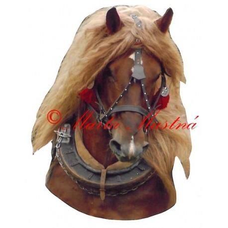 Samolepka kůň chladnokrevník ryzák