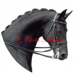 Samolepka kůň teplokrevník , drezura, koně