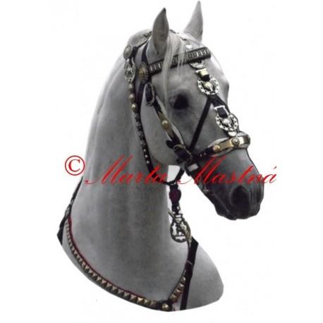 Samolepka kůň lipicán Darius