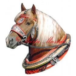 Samolepka chladnokrevník Aron, kůň, koně