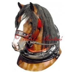Samolepka polský chladnokrevník Buntek, kůň, koně